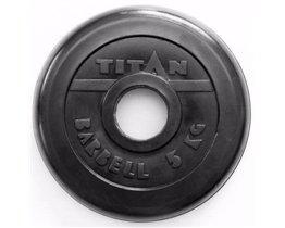 Диск TITAN PROFY 51 мм 5 кг стальная втулка