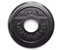 Диск TITAN PROFY 51 мм 2.5 кг стальная втулка