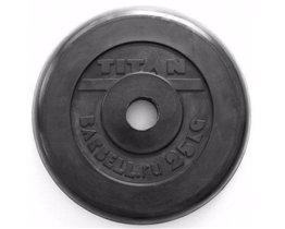 Диск TITAN PROFY 51 мм 25 кг стальная втулка